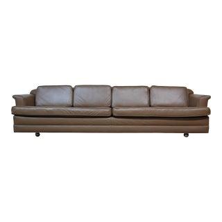 Dunbar Leather Sofa For Sale