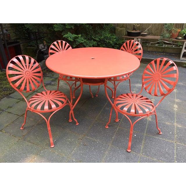 Francois Carré Sunburst Patio Furniture For Sale - Image 13 of 13