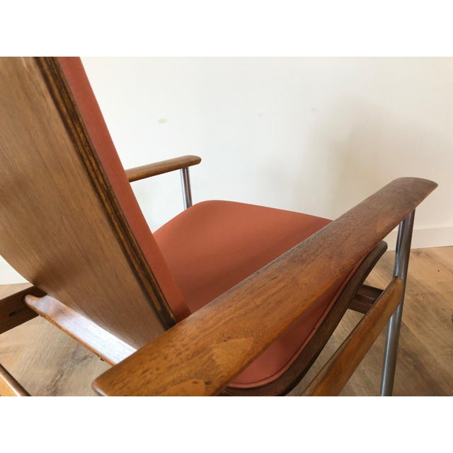 Vintage Sven Ivar Dysthe Norwegian Armchairs With New Upholstery - a Pair For Sale In Seattle - Image 6 of 9