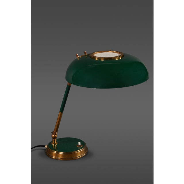 Stunning Oscar Torlasco Table Lamp for Lumi For Sale - Image 11 of 11