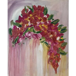 Grace Amongst the Flowers Contemporary Painting For Sale