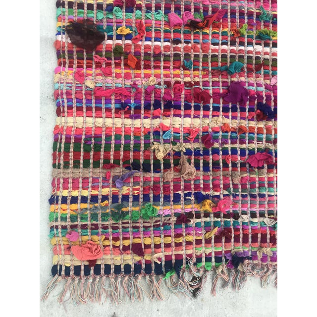 2010s Indian Multicolor Rug - 4′ × 6′ For Sale - Image 5 of 11