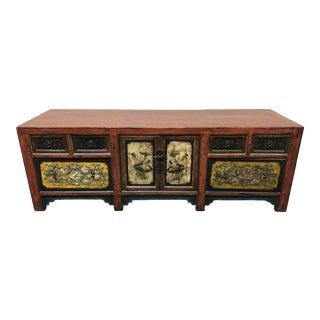 Vintage Mongolian Chest For Sale