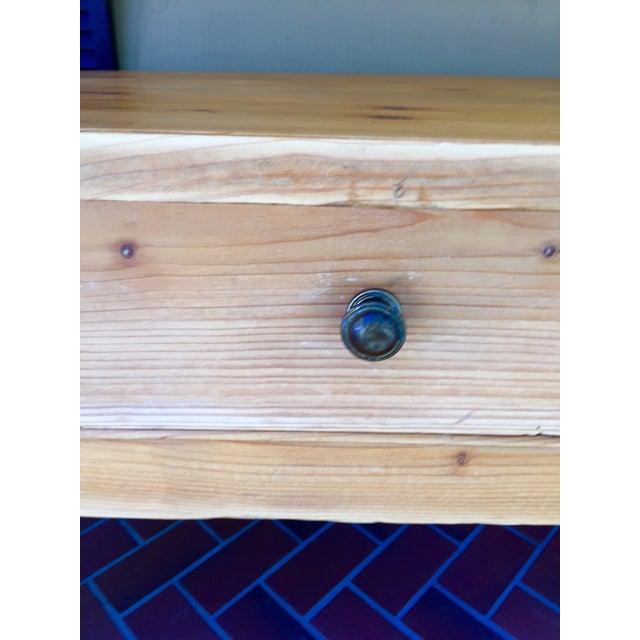 French Pine Single-Drawer Desk - Image 11 of 11
