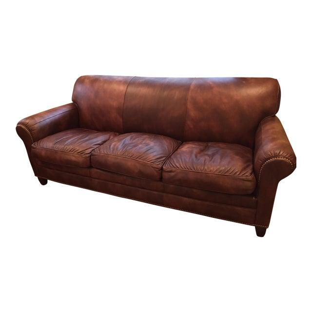 Hancock & Moore Leather Sofa - Image 1 of 6