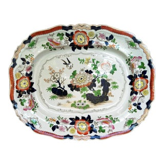 Ashworth Large Ironstone Dish For Sale