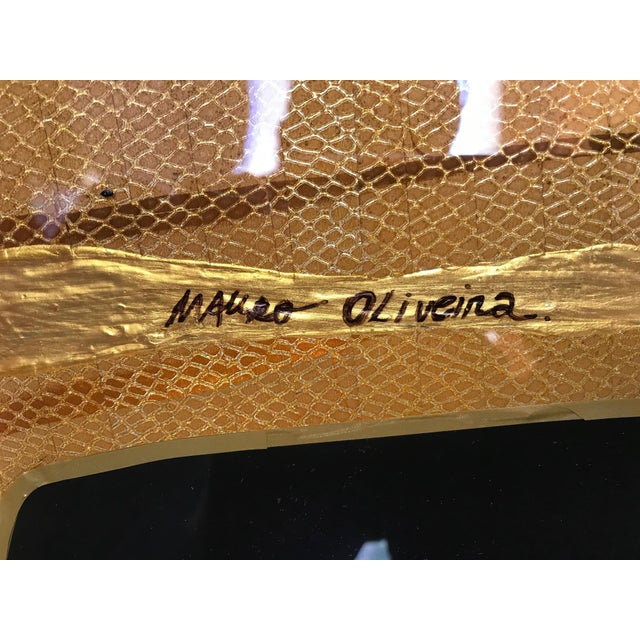 Early 21st Century Golden Oscar by Mauro Oliveira For Sale - Image 5 of 6