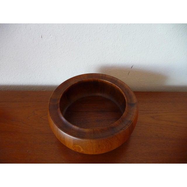 Digsmed 1960s Danish Modern Digsmed Teak Bowls - a Pair For Sale - Image 4 of 10