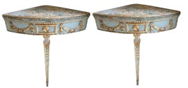 Image of Blue Console Tables