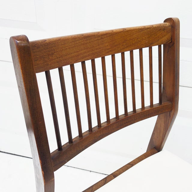 Mid-Century Spoke Back Chair by Johnson Carper For Sale In New York - Image 6 of 11