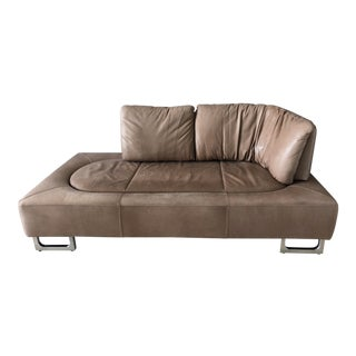 De Sede Brown Naturale Leather Hand Made Ds-165 Sofa