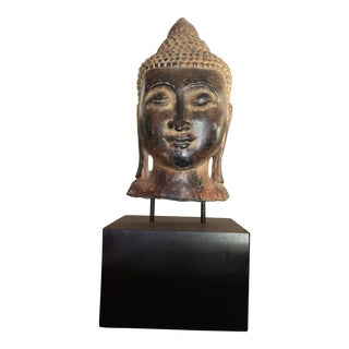 Early 20th Century Buddha on Stand For Sale