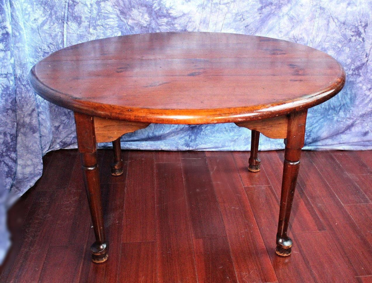Antique Queen Anne Style Round Extension Dining Table  : antique queen anne style round extension dining table 6482aspectfitampwidth640ampheight640 from www.chairish.com size 640 x 640 jpeg 63kB