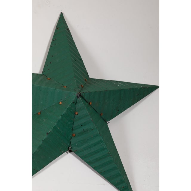 Mid 20th Century Large Amish Barn Stars For Sale - Image 5 of 8