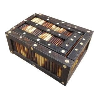 Miniature Porcupine Quill Box