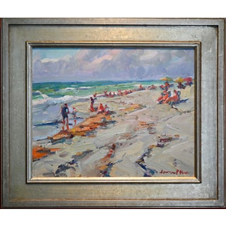"""""""Breezy Morning"""" Seascape Oil Painting by James P. Kerr For Sale"""