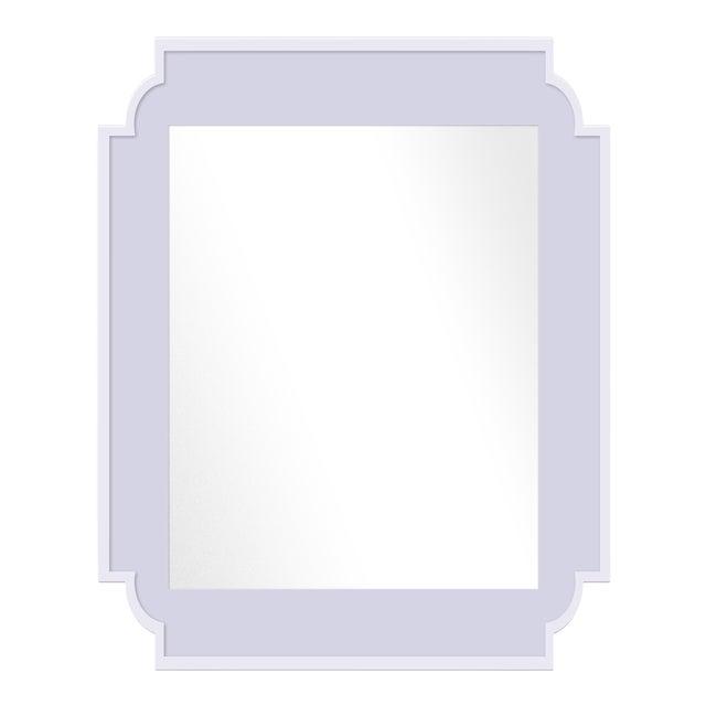 Fleur Home x Chairish Camp Mirror in Spring Iris, 24x36 For Sale