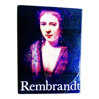 1978 Rembrandt Paintings Book