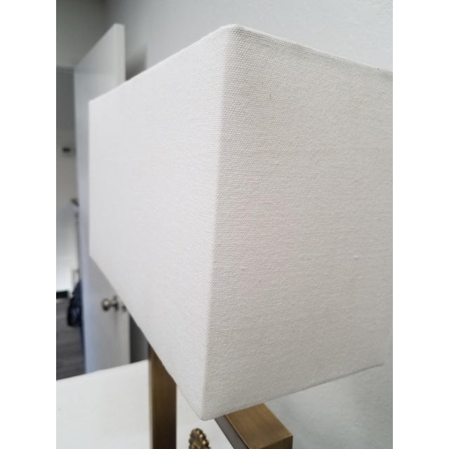 Modern Table Lamp With Arrow For Sale In Dallas - Image 6 of 9