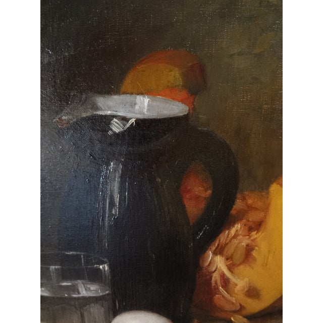 French Still Life 19th Century Painting For Sale - Image 4 of 11