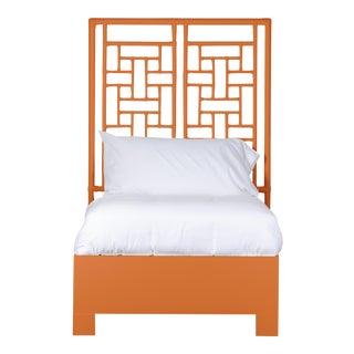 Ohana Bed Twin Extra Long - Orange For Sale
