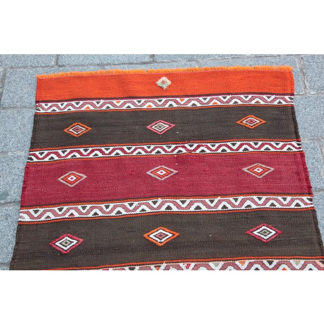 This is a Beautiful Kilim coming from Konya region it is in centre part of anatolia. This beautiful Konya kilim from mid...