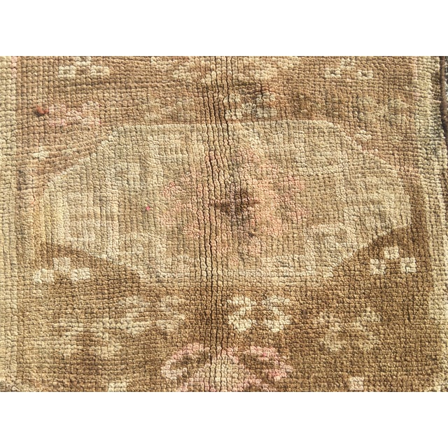 Oushak Turkish Rug - 2′2″ × 2′6″ - Image 4 of 8