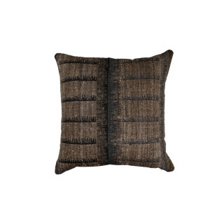 Indian Handwoven Comb Design Pillow For Sale
