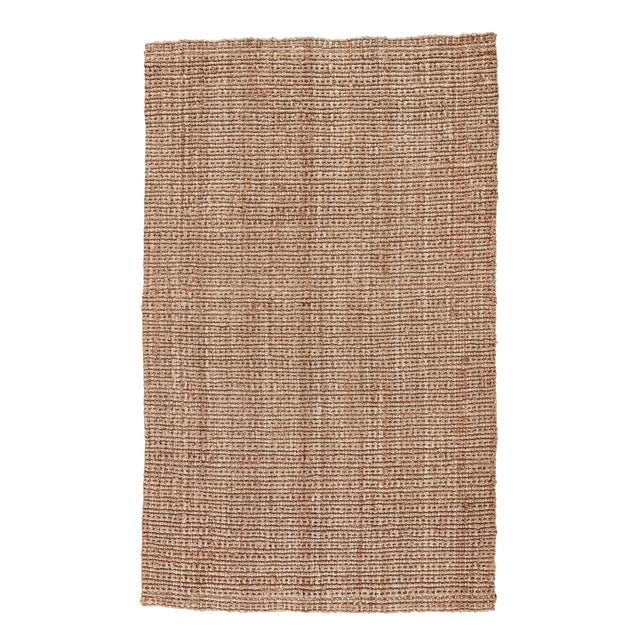 Jaipur Living Achelle Natural Solid Taupe Area Rug - 10' X 14' For Sale