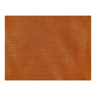Rust Linen Fabric - 5 Yards For Sale