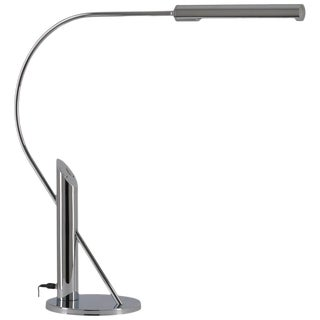 Elegant Topan Chrome Table Lamp by Florian Schulz, Germany For Sale