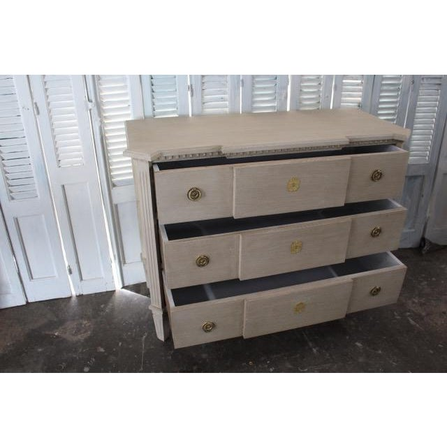 20th Century Swedish Gray Commode For Sale - Image 4 of 8