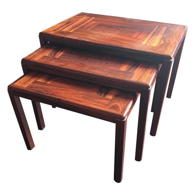 Modern Danish Nesting Tables - Image 1 of 4