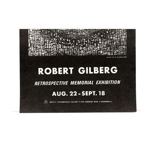 1970s Modern Art Print by Robert Gilberg - Image 2 of 5