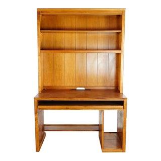 Ethan Allen Carved Wood 'Cottage' Work Desk For Sale