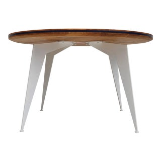 Danish Design Colorful Edge Solid Oak Coffee Table - 35.43ʺ For Sale