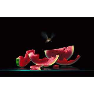"""""""Another Bite"""" Contemporary Still Life Giclee Print by Dario Campanile For Sale"""