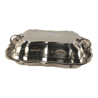"Sterling Silver Covered Dish by Reed & Barton in ""Windsor"" Pattern"
