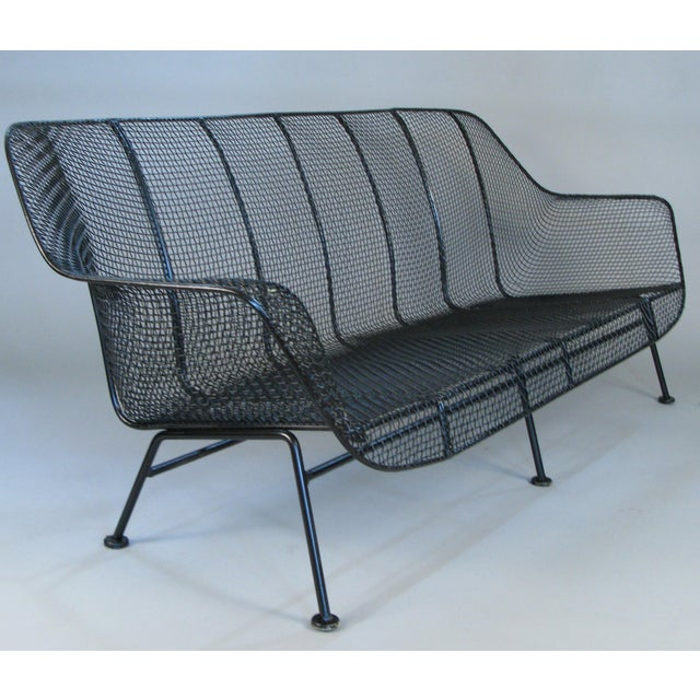 Metal 1950s Sculptura Sofa by Russell Woodard For Sale - Image 7 of 10