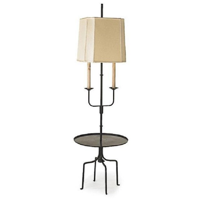 Mid-Century Modern Tommi Parzinger Table Floor Lamp For Sale - Image 3 of 3