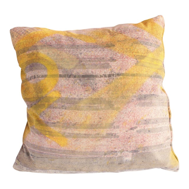 ABC Carpet and Home Graffiti Pillow For Sale