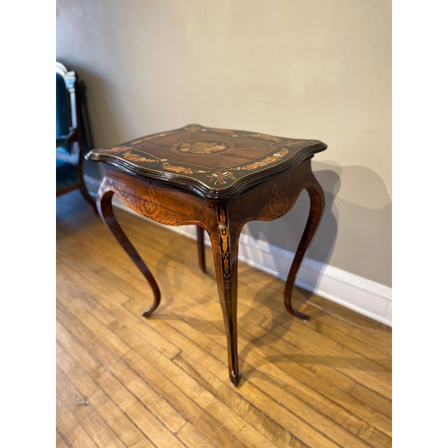 19th Century French Side Table For Sale - Image 4 of 13