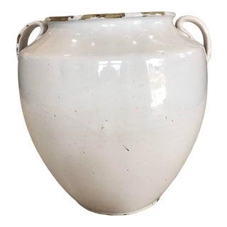 Contemporary Cream Confit Jar For Sale