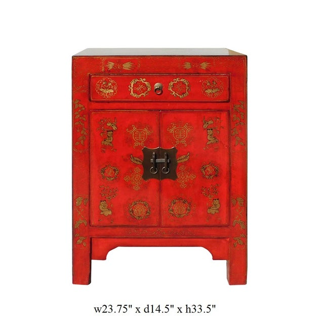 Chinese Side Table Cabinet - Image 6 of 6