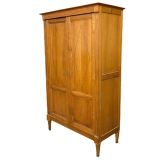 French Cherry Armoire For Sale