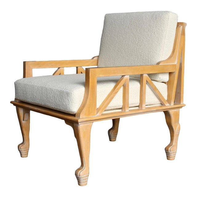 "1970s Vintage John Hutton for Randolph & Hein ""Thebes"" Chair For Sale"