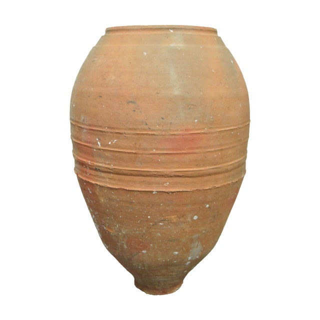 Greek Antique Pottery Water Jug - Image 1 of 4