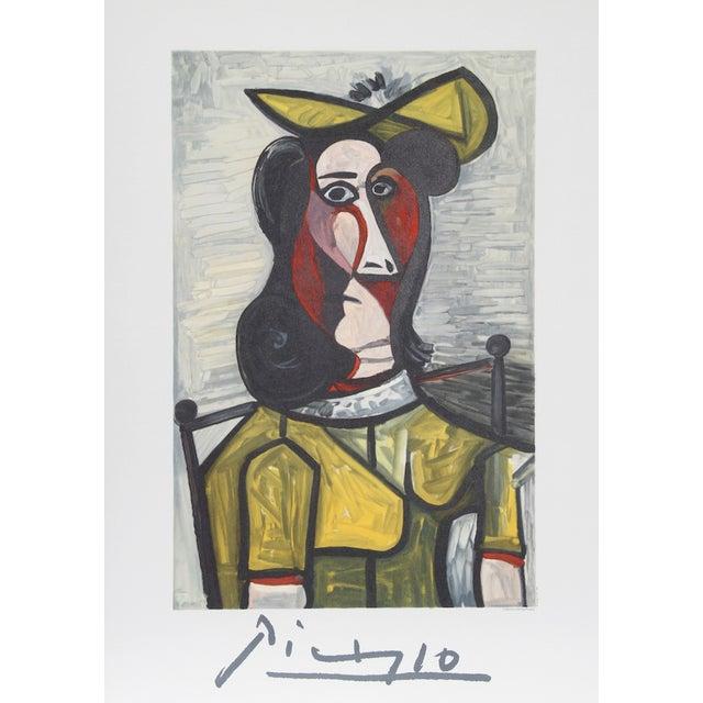 """Picasso, """"Portrait De Femme Au Chapeau,"""" Print For Sale"""