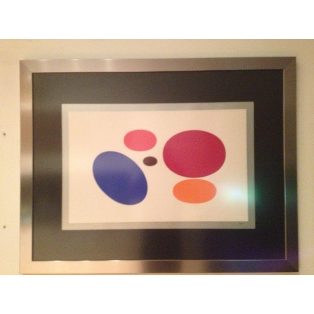 'One and Another' by Yaakov Agam, Signed by Artist - Image 4 of 5