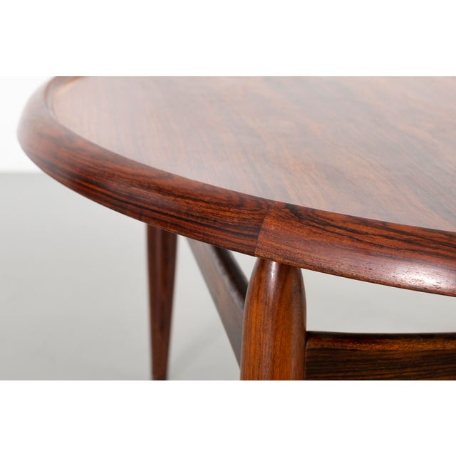 Jason Møbler Kurt Ostervig Mid-Century Modern Rosewood Coffee Table For Sale - Image 4 of 8
